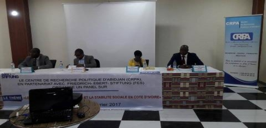 Panel on trade union claims and social stability in côte d'ivoire